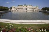 Palacio de belvedere - viena — Foto de Stock