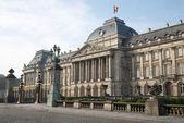 Bruksela - Pałac Królewski w świetle poranka — Zdjęcie stockowe