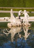 Viena - fonte no palácio belvedere — Fotografia Stock