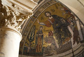 Jesus Christ - Pantokrator from Florence church - San Miniato al Monte — Stock Photo