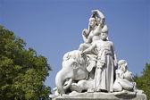 Estátua de londres - o príncipe albert memorial - ásia — Foto Stock