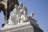 Londra - prens albert memorial - afrika heykeli — Stok fotoğraf