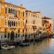 Stock Photo: Venice - Canal Grande in evening light
