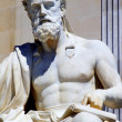 Vienna - philosopher statue for the Parliament - Xenophanes — ストック写真