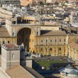 Stock Photo: Rome - Vatics museums from cupola
