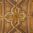 Rome - roof in Santa Maria di Pace — Stock Photo