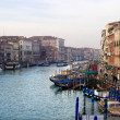 Stock Photo: Venice - canal Grande in evening