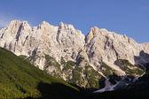 Julian alps - Gamsova spica peak - look from near of Mihov dom — Stock Photo