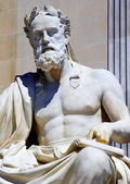 Viyana - meclis - xenophanes filozof heykel — Stok fotoğraf