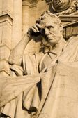 Rome - statue for the Justice palace - detail — Stock Photo