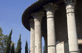 Rome- vesta temple — Stock Photo