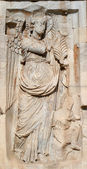 Rome - relief of Constanitne triumph arch — Stock Photo