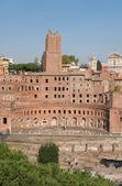 Rome - Foro di Traiano - Trajans forum — Stock Photo