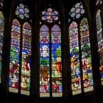 ������, ������: Paris sanctuar windowpane of Saint Denis cathedral