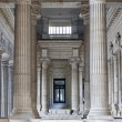 Stock Photo: BRUSSELS - JUNE 22: Neoclasical vestiubule of Justice palace on June 22, 2012 in Brussels.