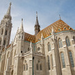 Budapest - St. Matthew's gothic Cathedral — Stock Photo