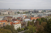 Budapest - outlook from Buda to st. Stephen cathedral — Stock Photo