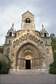 Budapest - Church of Jak, Vajdahunyad castle — Stock Photo