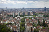 Brussels - outlook from National Basilica of the Sacred Heart — Stock Photo