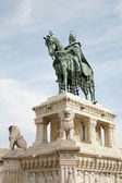 Saint Stephen memorial in Budapest — Stockfoto