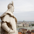 Budapest - outlook from Fisher bastion — Stock Photo