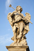 Rome - Angel with the sponge from Angel's Bridge — Foto Stock