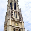 Paris - tower of Saint Germain d Auxerrois church - Stock fotografie