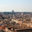 Stock Photo: Rome - outlook from Vittorio Emanuel landmark