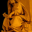 Stock Photo: Rome - prophet Isaiah from Maricolumn by Spain stairs