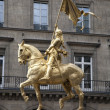 Paris - Joan of Arc memorial — Stock Photo