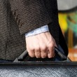 Stock Photo: Hand of mand case