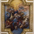 Jesus Christ and coronation of holy mary - paint from Florence church of st. Mark - roof — Stock Photo #14885699