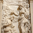 Milan - Baptism of Christ - relief — Stock Photo