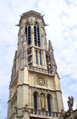 Paris - tower of Saint Germain d Auxerrois church — Stock Photo