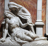 London - pieta from church st. Philip Neri — Stock Photo