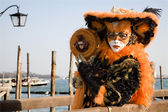 Venice- mask fom carnival — Stock Photo