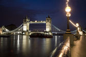 London - Tower bridge in moring — Stock Photo
