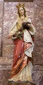 St. Elizabeth from Bratislava st. Elizabeth church — Stock Photo