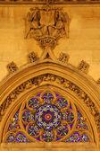 готическая церковь санкт жермен auxerrois в париже — Стоковое фото