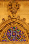 St. Germain Auxerrois gothic church in Paris — Stock Photo