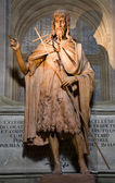 Florence - Saint John the Baptist statue — Stock Photo