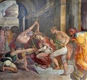 Rome - thorns coronation of Christ from Santa Prassede church — Stock Photo