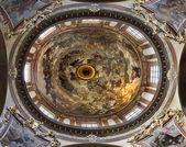 """Praga - kopuła kościoła świętego franciszka """"seraph"""" - ostatni wyrok przez jk liska i v.v. reiner — Zdjęcie stockowe"""