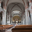 Milan - nave of Saint Ambrosius church — Stock Photo