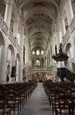 Paris - interior of Saint Etienne church — Stock Photo
