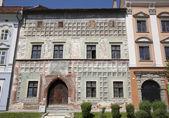 レヴォチャ - ルネサンスの古い家のファサード — ストック写真