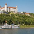 Castle in bratislava - Stock Photo