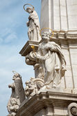 Budapest -Trinity baroque column — Stock Photo