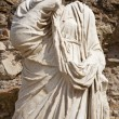 Rome - statue from Atrium Vestae - Forum romanum - Stock Photo