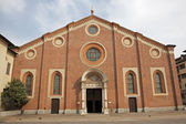 Milan - Santa Maria delle Grazie church — Stock Photo